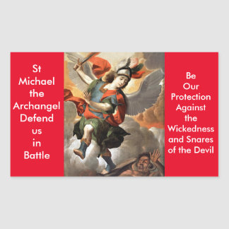 St Michael the Archangel Stickers