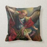 St. Michael the Archangel Throw Pillow