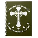 St Michael The Archangel - White Stencil Journal