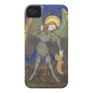 St. Michael the Archangel with Devil iPhone 4 Case-Mate Case