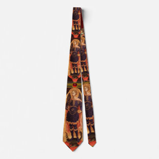 St. Michael the Archangel with Dragon, Ruby Neck Tie