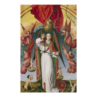 St. Michael Weighing the Souls Poster