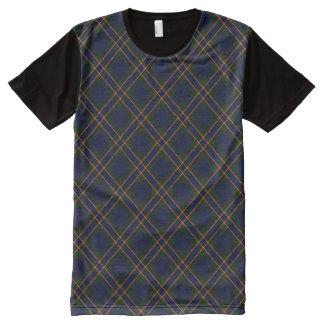 St. Michael's Brooklyn Diagonal Plaid All-Over Print Shirt