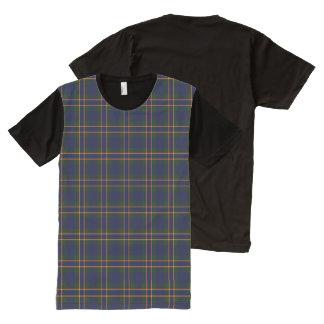 St. Michael's Brooklyn Horizontal Plaid All-Over Print T-shirt