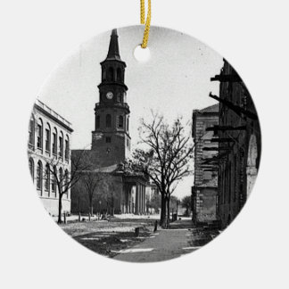 St. Michael's Church Double-Sided Ceramic Round Christmas Ornament