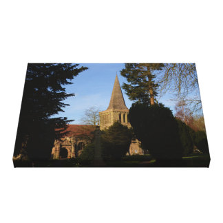 St Michaels Church Stoke Prior Canvas Print
