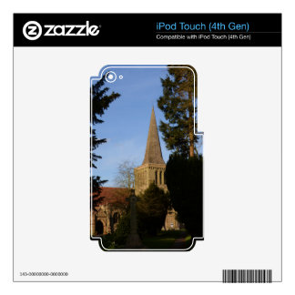 St Michaels Church Stoke Prior Decal For iPod Touch 4G
