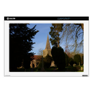 St Michaels Church Stoke Prior Decals For Laptops