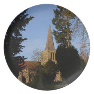 St Michaels Church Stoke Prior Dinner Plate