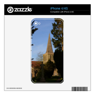 St Michaels Church Stoke Prior iPhone 4 Decals