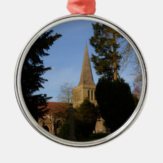 St Michaels Church Stoke Prior Metal Ornament