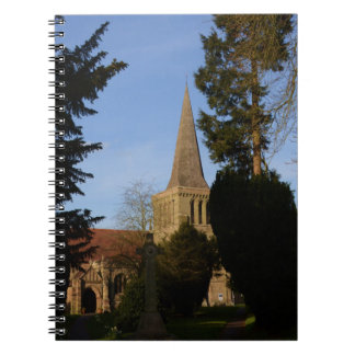 St Michaels Church Stoke Prior Notebook