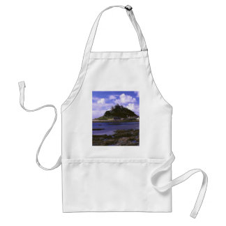 ST MICHAELS MOUNT ADULT APRON
