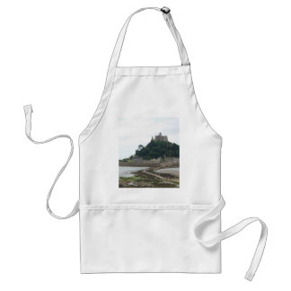 ST MICHAELS MOUNT CORNWALL ADULT APRON