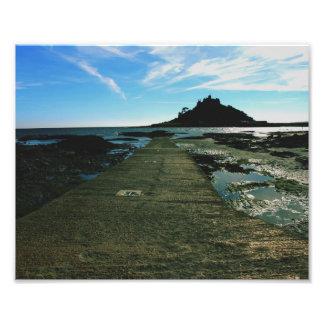 St Michael's Mount, Cornwall Print