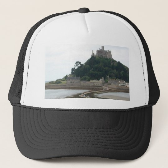 ST MICHAELS MOUNT CORNWALL TRUCKER HAT