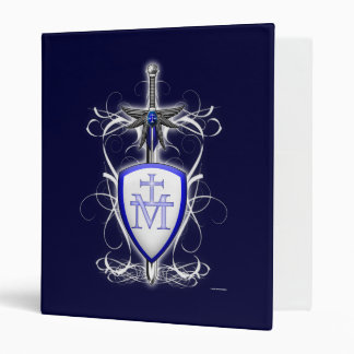 St. Michael's Sword 3 Ring Binder