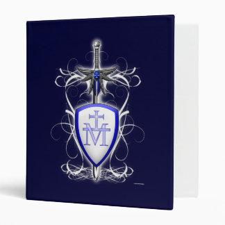 St. Michael's Sword Vinyl Binder