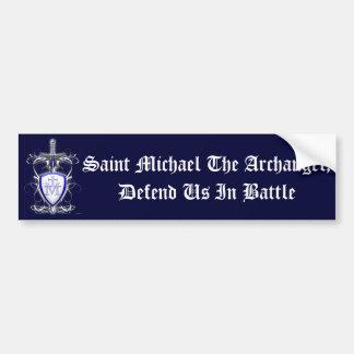 St. Michaels Sword Bumper Sticker