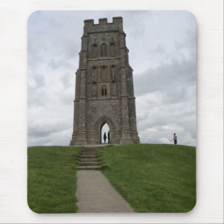 St Michael's Tower on Glastonbury Tor Mouse Pad