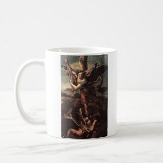 St Micheal and the Devil Coffee Mug