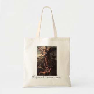 St Micheal and the Devil Tote Bag