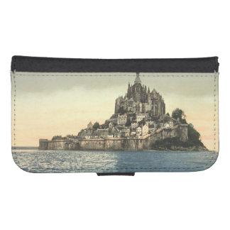 St Miguel de Mont II, Normandía, Francia Fundas Billetera De Galaxy S4