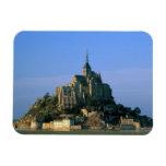 St Miguel, la Mancha, Normandía, Francia de Mont Imanes Rectangulares