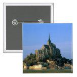 St Miguel, la Mancha, Normandía, Francia de Mont Pin Cuadrada 5 Cm