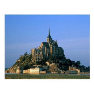 St Miguel la Mancha Normandía Francia de Mont Tarjetas Postales