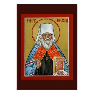 St. Mini tarjeta inocente del rezo Tarjetas De Visita Grandes