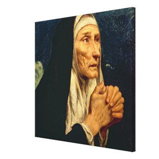 St. Monica Canvas Print