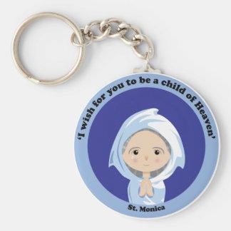 St Monica Keychains