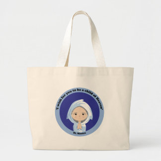 St. Monica Large Tote Bag