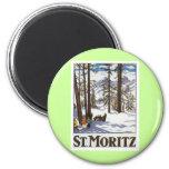 St Moritz Imán Para Frigorífico