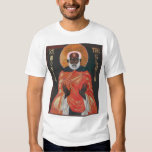 St Moses del icono el negro Playeras