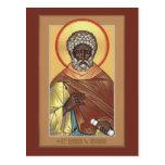 St. Moses la tarjeta etíope del rezo Tarjeta Postal