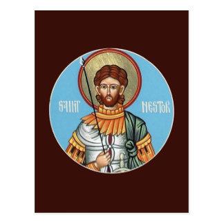 St Nestor of Thessolonica Prayer Card