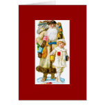 St. Nicholas and Child Greeting Card