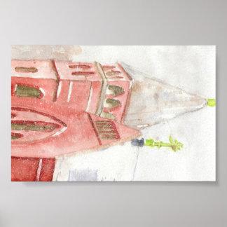 St. Nicholas Carpatho Church, East Village, NY Poster