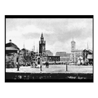 St Nicholas Church and Tower Buildings, Liverpool Postcard
