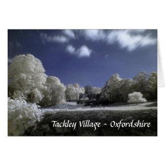 St Nicholas Church, Tackley, Infrared Photograph Card