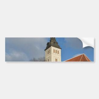 St. Nicholas' Church, Tallinn, Estonia Bumper Sticker