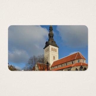 St. Nicholas' Church, Tallinn, Estonia Business Card