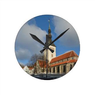 St Nicholas Church Tallinn Estonia Wall Clocks