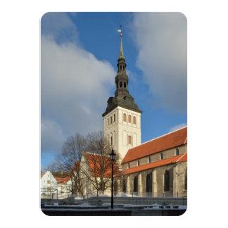 St. Nicholas' Church, Tallinn, Estonia Personalized Invitation