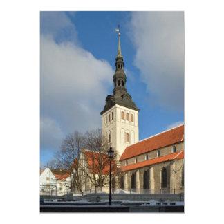 St. Nicholas' Church, Tallinn, Estonia Personalized Invite
