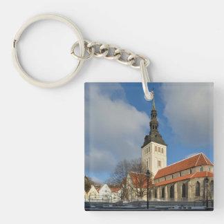 St. Nicholas' Church, Tallinn, Estonia Keychain