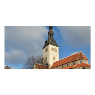 St. Nicholas' Church, Tallinn, Estonia Personalized Photo Card