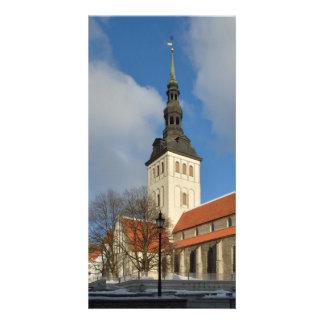St. Nicholas' Church, Tallinn, Estonia Photo Greeting Card